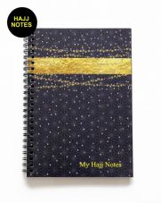 This stylish Hajj notebook is the ideal companion to take with you on hajj NEW